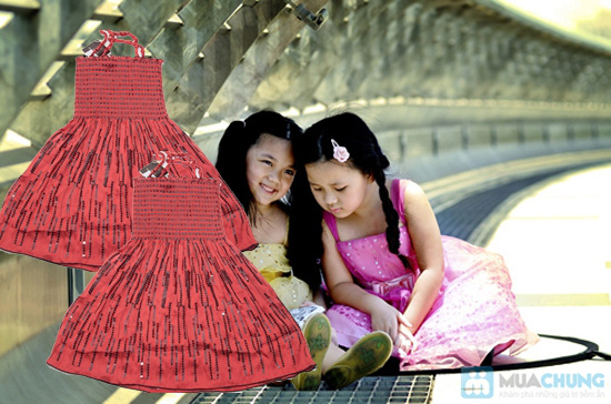 Đầm 2 dây xòe cho bé gái - Chỉ 65.000đ - 6