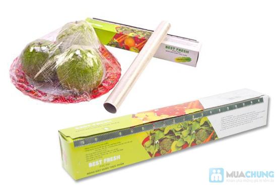 Combo 04 hộp màng bọc thực phẩm của NHẬT - Best Fresh - An toàn, tiện lợi, bảo vệ thực phẩm luôn sạch sẽ, chống khuẩn - 8