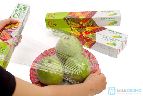 Combo 04 hộp màng bọc thực phẩm của NHẬT - Best Fresh - An toàn, tiện lợi, bảo vệ thực phẩm luôn sạch sẽ, chống khuẩn - 6