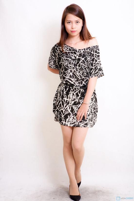 Áo cánh dơi ( áo váy ) nhiều họa tiết thời trang - 5