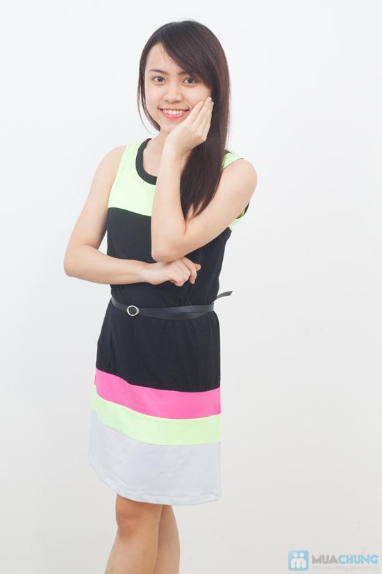 Đầm thun không tay thời trang - Chỉ 105.000đ/01 chiếc - 8