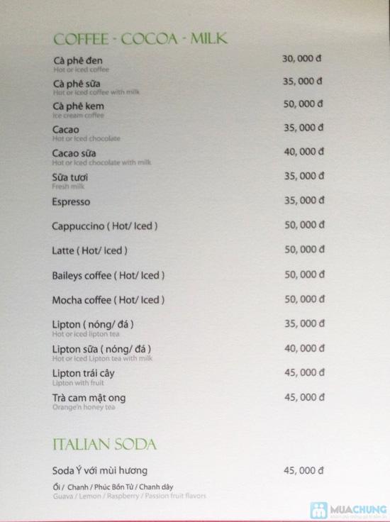 Phiếu thưởng thức nước uống, kem, bánh ngọt tại ILPINO Cafe - Chỉ 29.000đ được phiếu 60.000đ - 2