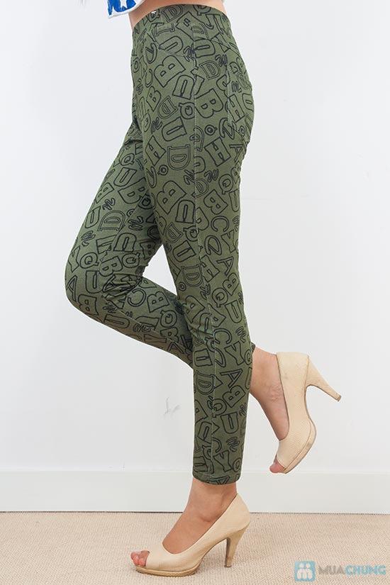 Quần legging giả jean big size - Dành cho người từ 60kg trở lên - Chỉ 75.000đ/01 chiếc - 1