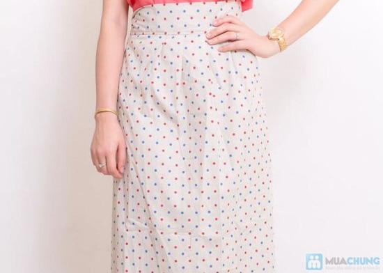 Váy chống nắng kaki - 3