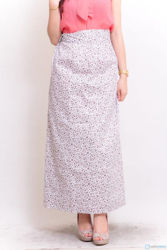 Váy chống nắng kaki - 4