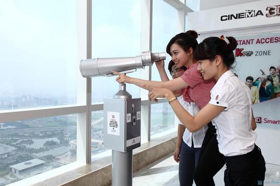 Ngắm Thành Phố Hà Nội tại Đài Quan Sát Sky 72 Và Đồ Uống Tự Chọn Tại Keangnam Landmark 72 Tower. Voucher 240.000đ Chỉ Còn 120.000đ - 4