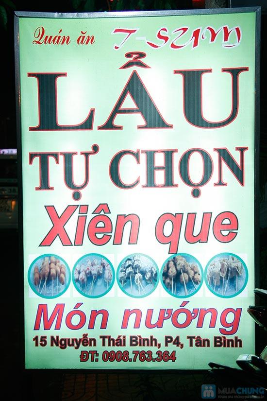 Lẩu Thái/ Lẩu T-Sum/ Lẩu Hàn Quốc + Tôm rang/1 đĩa cánh gà chiên nước mắm/ 1 đĩa cút tại QUÁN T- SUM-chỉ 89.000đ - 13