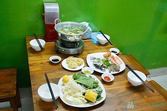 Lẩu Thái/ Lẩu T-Sum/ Lẩu Hàn Quốc + Tôm rang/1 đĩa cánh gà chiên nước mắm/ 1 đĩa cút tại QUÁN T- SUM-chỉ 89.000đ - 11