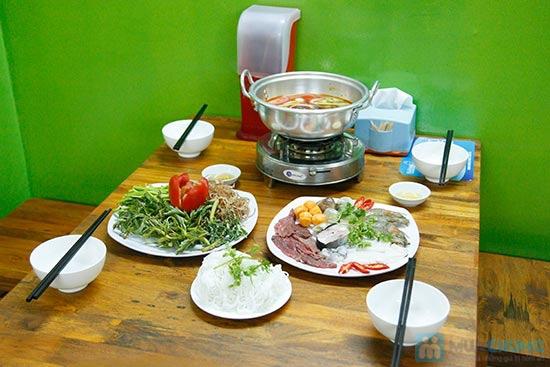 Lẩu Thái/ Lẩu T-Sum/ Lẩu Hàn Quốc + Tôm rang/1 đĩa cánh gà chiên nước mắm/ 1 đĩa cút tại QUÁN T- SUM-chỉ 89.000đ - 9