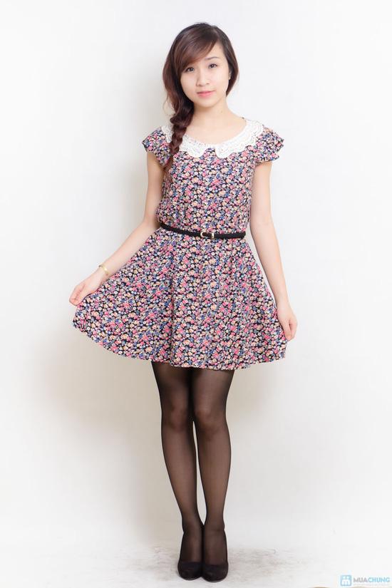Combo 02 váy lanh có đai - 2