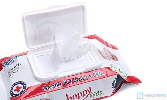 Combo 5 gói khăn ướt Happy Kids - 3