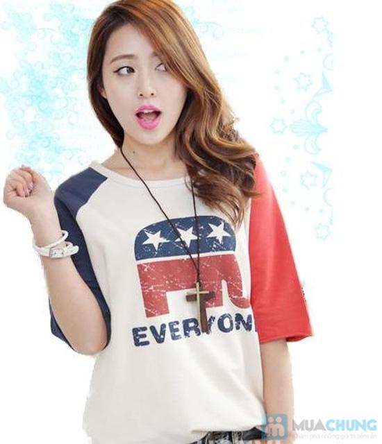 Áo phông nữ kiểu dáng Hàn Quốc - thỏa sức vui chơi