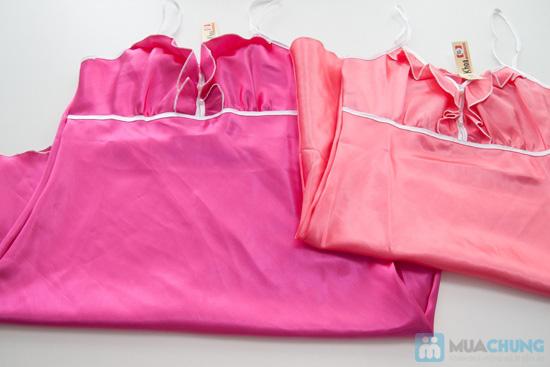 Đầm ngủ đính hạt ngọc trai trước ngực- Chỉ 60.000đ - 3