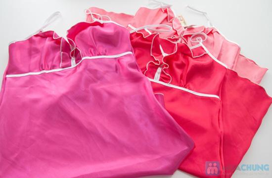 Đầm ngủ đính hạt ngọc trai trước ngực- Chỉ 60.000đ - 5