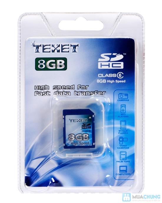 Thẻ nhớ SD TEXET 8GB - 1