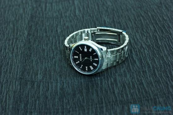 Đồng hồ nam dây sắt mặt tròn sang trọng - Chỉ 140.000đ/ 01 chiếc - 1