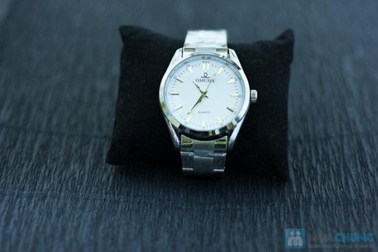 Đồng hồ nam dây sắt mặt tròn sang trọng - Chỉ 140.000đ/ 01 chiếc - 3