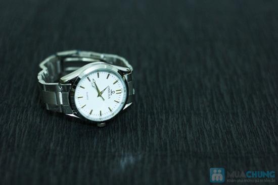 Đồng hồ nam dây sắt mặt tròn sang trọng - Chỉ 140.000đ/ 01 chiếc - 8
