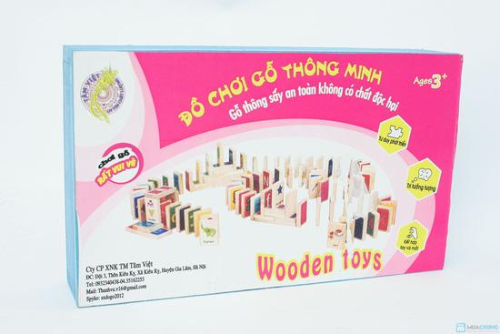 Bộ đồ chơi thông minh cho bé Domino - 2