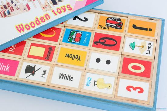 Bộ đồ chơi thông minh cho bé Domino - 12