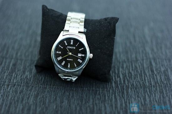 Đồng hồ nam dây sắt mặt tròn sang trọng - Chỉ 140.000đ/ 01 chiếc - 5