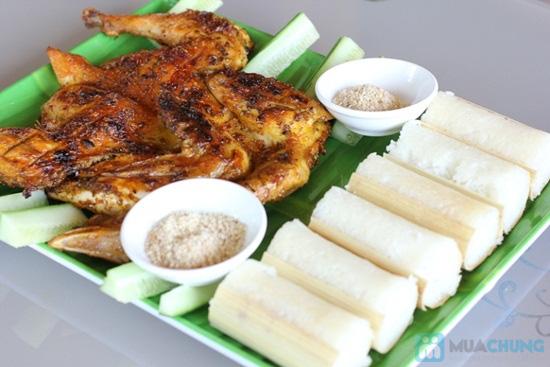 Set ăn cơm lam - gà sa lửa dành cho 2-3 người tại nhà