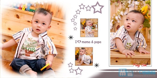 Voucher chụp hình, làm album, ảnh phóng cho bé, gia đình tại BEYEUPHOTO - 15