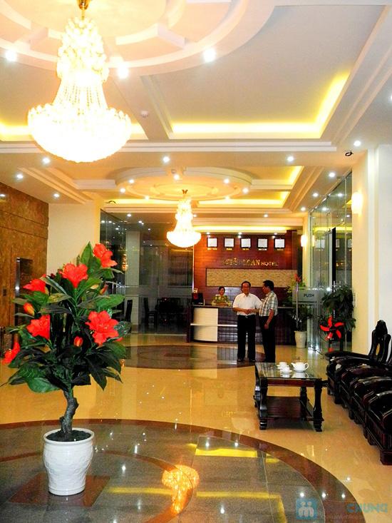 Khách sạn 3* Châu Loan Nha Trang, cách bãi tắm biển 50m. Phòng Superior kèm buffet sáng cho 2 người. Chỉ 450.000đ/đêm - 6