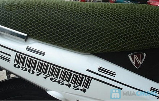 Áo lưới bọc yên xe máy độc đáo - Cách nhiệt, ngăn ẩm, bảo vệ yên xe - 2
