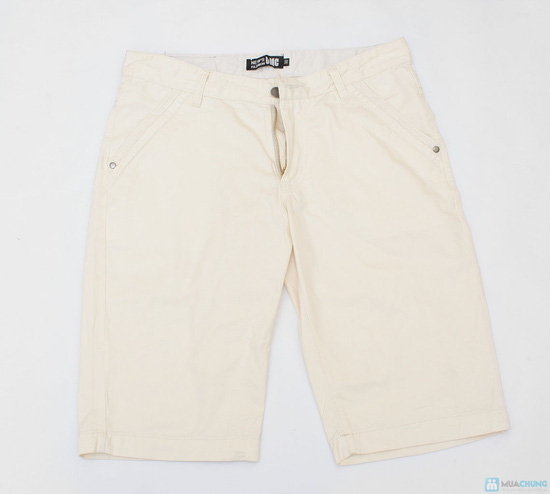 quần sooc kaki cho nam ngày hè - 9