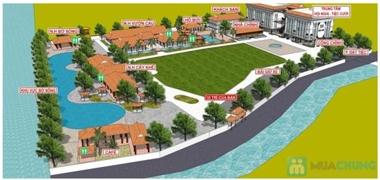 Combo Điểm tâm sáng + vé bơi cho 02 người tại Vườn Ẩm thực Bến Xưa - Chỉ 99.000đ - 2