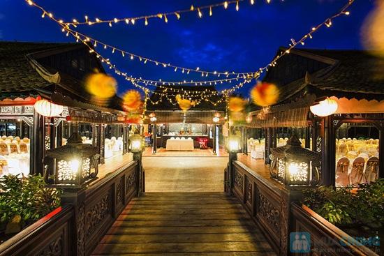 Combo Điểm tâm sáng + vé bơi cho 02 người tại Vườn Ẩm thực Bến Xưa - Chỉ 99.000đ - 17