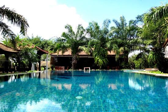 Combo Điểm tâm sáng + vé bơi cho 02 người tại Vườn Ẩm thực Bến Xưa - Chỉ 99.000đ - 19