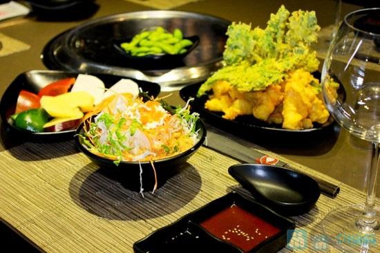 Set ăn Nhật cực kì hấp dẫn dành cho 4 người tại Nhà hàng Sumo Boy - Chỉ 450.000đ - 4