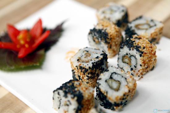 Bánh xèo sushi cháo sườn thố cho 2 người - 5