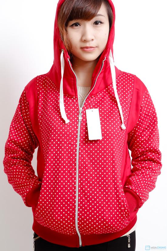 Nữ tính và sành điệu với áo khoác chấm bi xinh xắn dành cho bạn gái - Chỉ 140.000đ/01 chiếc - 6