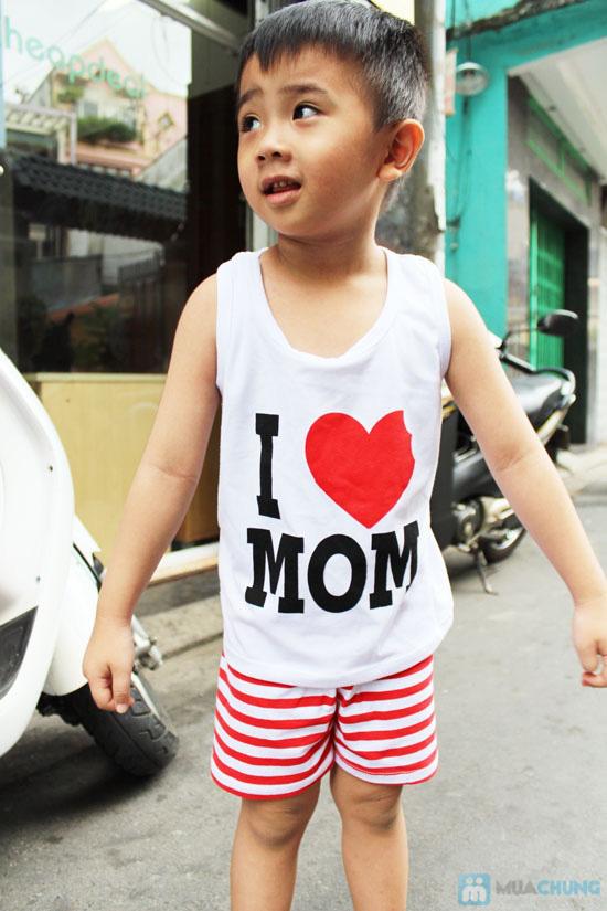 Bộ đồ Love Mom cho bé - Chỉ 75.000đ - 9