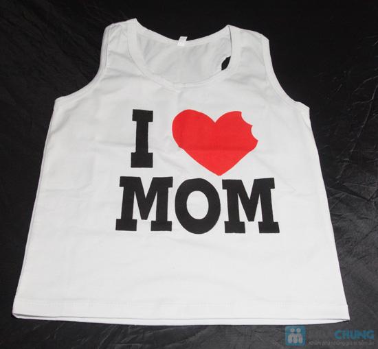 Bộ đồ Love Mom cho bé - Chỉ 75.000đ - 2