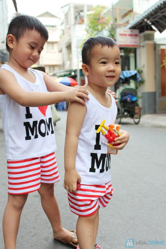 Bộ đồ Love Mom cho bé - Chỉ 75.000đ - 11