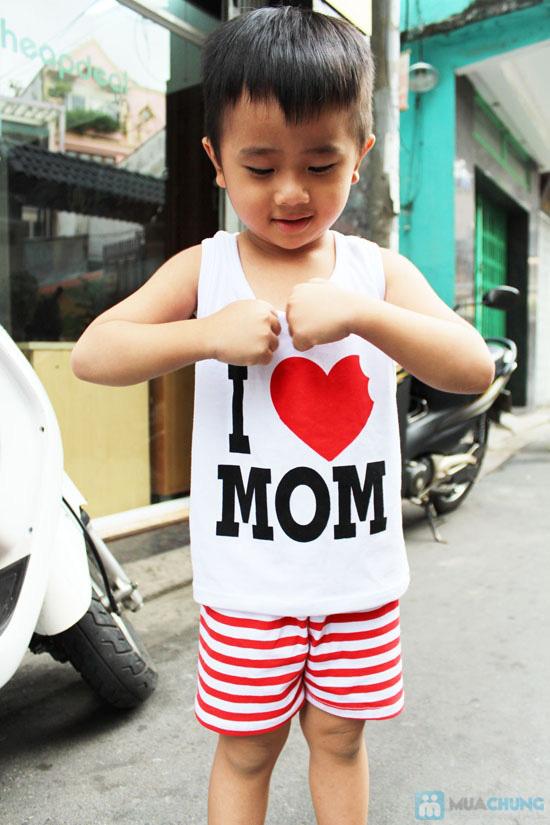 Bộ đồ Love Mom cho bé - Chỉ 75.000đ - 10