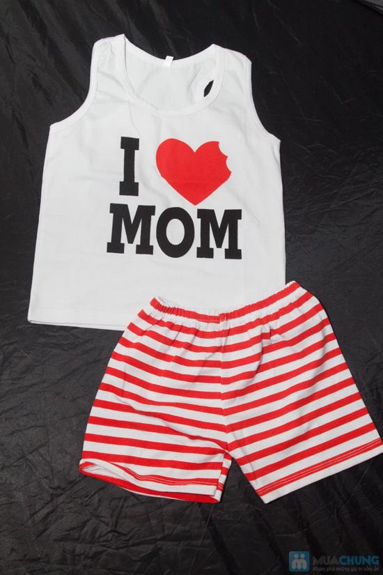 Bộ đồ Love Mom cho bé - Chỉ 75.000đ - 1