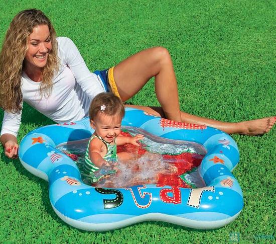 Bể bơi bơm hơi Intex hình sao - 3