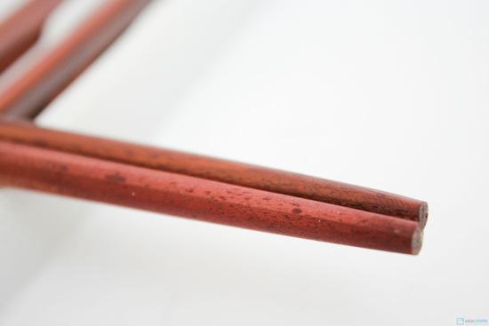 10 đôi đũa gỗ trác trạm khảm - 8