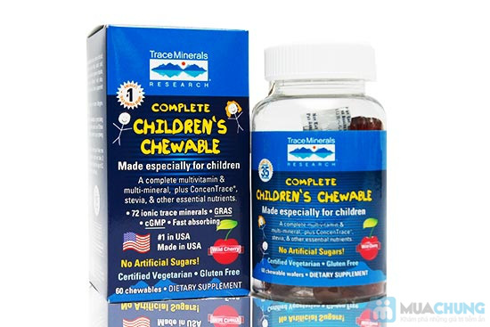 Viên dẻo vitamin trẻ em hương trái cây - Chỉ 243.000đ/01 hộp - 2