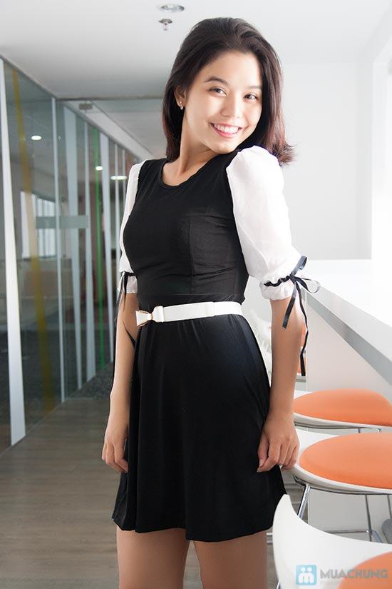 Đầm tiểu thư xinh xắn cho bạn gái đáng yêu - Chỉ 130.000đ/chiếc - 1