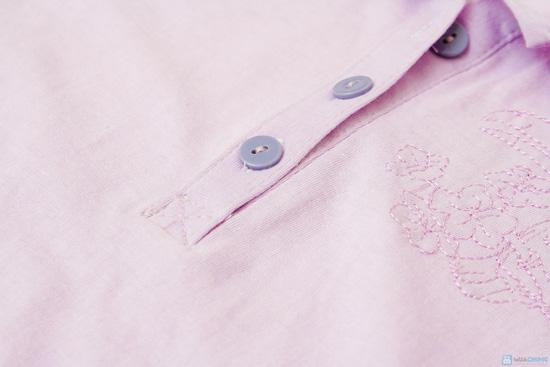 Combo 2 áo cotton cổ bẻ cho bé từ 3 đến 6 tuổi - 8