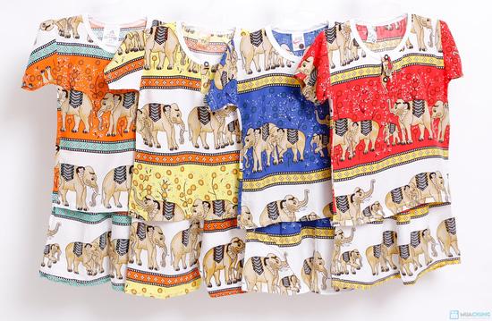 Combo 2 bộ đồ lanh hình con voi cho bé trai - 5