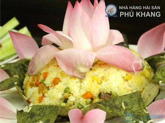 Buffet trưa  tại NH hải sản Phú Khang - Chỉ 99.000đ/ 01 người - 18