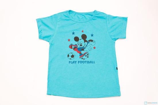 Combo 3 áo phông cotton cho bé trai - 3