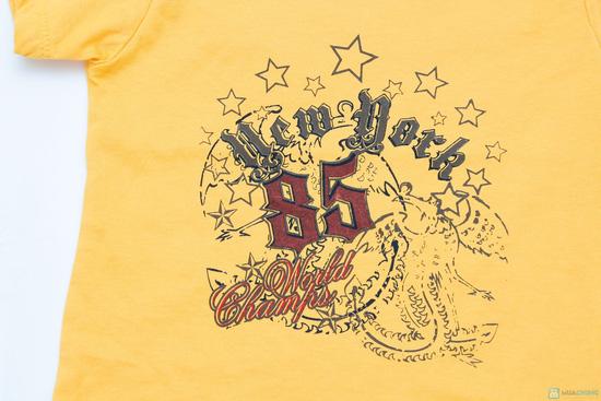 Combo 3 áo phông cotton cho bé trai - 10